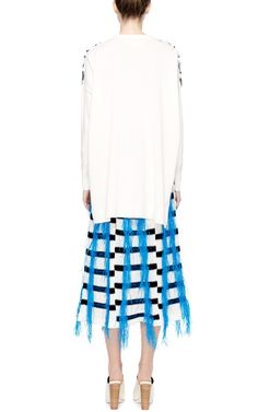 Embellished Long Sleeve Top by Thakoon Now Available on Moda Operandi