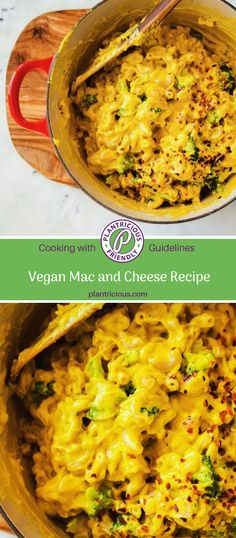 The best easy vegan mac and cheese recipe with broccoli, roasted sweet potato, nutritional yeast and cashews. Healthy and delicious! Easy Vegan Mac And Cheese Recipe, Cheese Recipes, Vegan Recipes, Broccoli Recipes, Dinner Is Served, Tomato Salad, Nutritional Yeast, Roasted Sweet Potatoes, Nutritious Meals