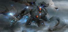 Daryl_Mandryk_Pacific_Rim_Jaeger_Robot_Concept_Fan_Art_.jpg (1827×870)