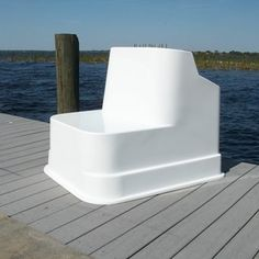 "C&M Marine Center Console with wide built-in seating. Overall height of 35"" and overall length including flange is 43 1/2"". Perfect for boats 21' to 25' long."