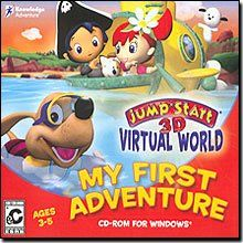 Jumpstart 3D Virtual World  My First Adventure Old Version * Visit the image link more details.