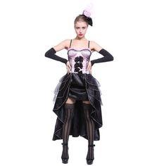 Moulin Rouge Burlesque Fancy Dress Costume Saloon Girl Ca… Fancy Dress Costumes For Women, Cabaret, Burlesque Fancy Dress, Saloon Girls, Girl Dancing, Dress Collection, Pink Dress, Goth, Wonder Woman