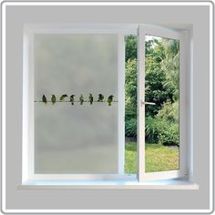 A modern cost effective way to add privacy and style to your windows with our etched glass designs. All customs made to your specifications.