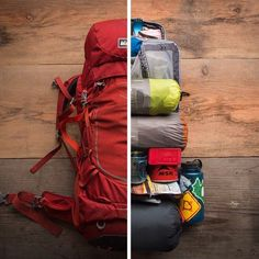 Precision packing for the win. #letscamp