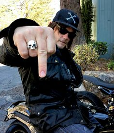 Filming 'Ride With Norman Reedus'