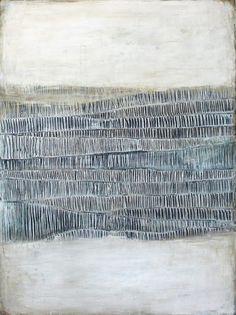 Stitching inspiration - margadirube: Karine Léger (via Karine Léger Abstract Landscape, Abstract Art, Silkscreen, Illustration Art, Illustrations, Medical Illustration, Mark Making, Art Auction, Medium Art
