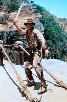 Harrison Ford (as Indiana Jones in Indiana Jones and the Temple of Doom)