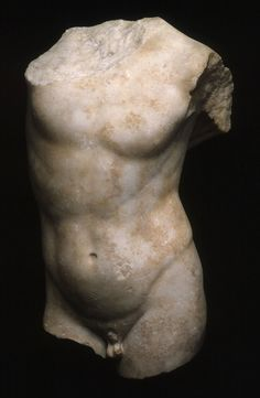 Torso of a Youth, 2nd/1st century B.C., copy of a fourth-century B.C. Greek original