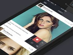 App Concept iOS7  by Andreas Ubbe Dall