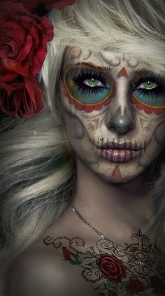 day of the dead-- i've always wanted to experience this holiday in Mexico!