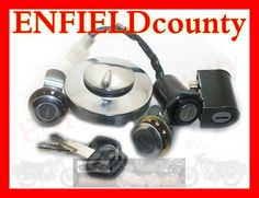NEW ROYAL ENFIELD COMMON KEY SET LOCK ASSEMBLY 145375