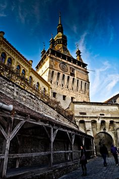 Historic region of Transylvania, Sighisoara, Mures, Romania