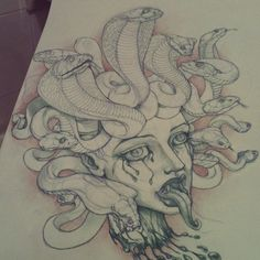Medusa by AnnubisEyes.deviantart.com on @deviantART