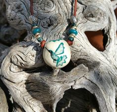 Hummingbird Dreams - Aroma Therapy Necklace, Essential Oil Diffuser Necklace, Earthy Boho, Heart Pendant, Stoneware Necklace,  #E- 245 by EarthnOils on Etsy  May your day be filled with the magic of the hummingbird.