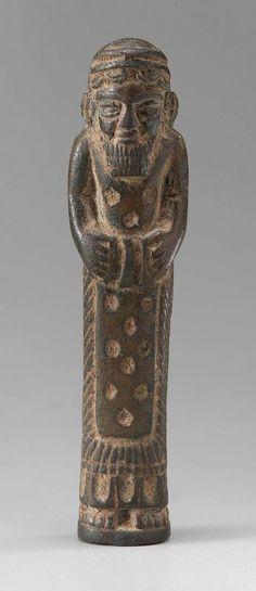 Bronze votive figure. Anatolian. Neo-Hittite. Iron Age. Early first millennium B.C.   Museum of Fine Arts, Boston