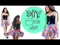 ▶ CIRCLE SKIRT 101 - Measurements, Pattern, How to hem a circle skirt