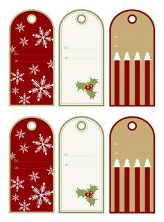 Etiquettes gratuites cadeaux Noël à imprimer à la maison