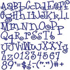 fonts |