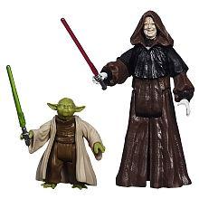 Star Wars Rebels - Mission Series, 2er Pack, Yoda   Darth Sidious