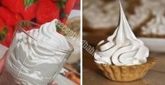 Najlepší recept na bielkový krém s úplne famóznou chuťou! Creme, Frosting, Icing, Food Decoration, Something Sweet, Carrot Cake, Love Food, Deserts, Goodies