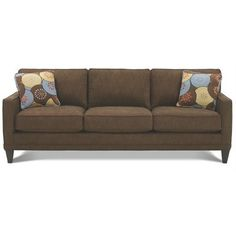 Image result for cornerstone track arm sofa tapered legs