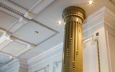 Artesian The Langham Hotel London | Luxury Bar Interiors | David Collins Studio | via davidcollins.com...