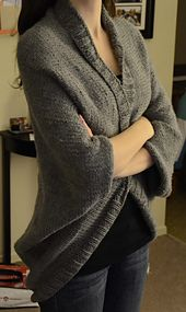 Ravelry: Speckled Shrug pattern by Lion Brand Yarn. Now I just need to learn to knit...
