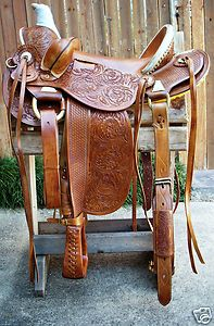 """colorful pictures of western saddles   16"""" Western Vaquero Mounted Shooting Saddle Old Timer Caramel Color ..."""