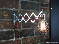 Industrial Wall Sconce - Scissor Lamp Wall Lights