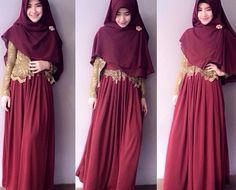 Model Kebaya Untuk Wisuda Syar'i Modern Kebaya Muslim, Bridesmaid Dresses, Prom Dresses, Formal Dresses, Wedding Dresses, Model Kebaya Modern, Hijab Stile, Kebaya Brokat, Models