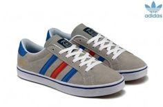 sale retailer dc311 184c9 Adidas Originals Campus 80s Americana Suede Gris Bleu Rouge Brun Homme