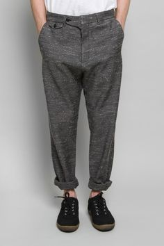 Edwin Trouser - Black Pattern
