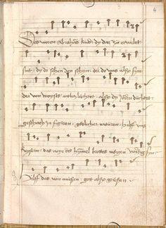 Sequentia 'Ave praeclara', Teutonicis verbis Erffordie compillatus 1492  Cgm 7351  Folio 11