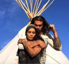 Lisa Bonet and husband, Jason Momoa