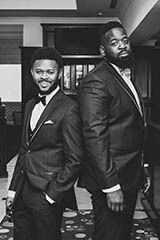 black and white photo of the best men and groom.  #torontoweddingphotography #torontoweddingvideography #weddingphotography #torontoweddings #torontowedding #culturalwedding #torontophotographer #torontovideographer #weddingvideography #torontobride