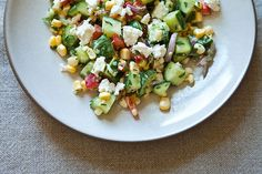 dilled . crunchy sweet-corn salad w/ buttermilk dressing ++ food52