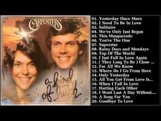 The Carpenters\'s Greatest Hits   Best songs of The Carpenters - YouTube