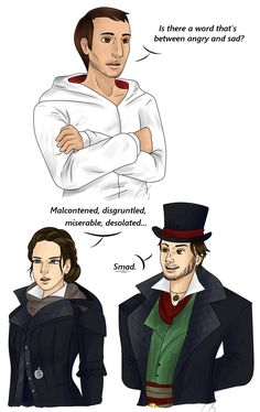 "timmiearts: "" Dialogue by Just Jacob being an intellectual as usual I guess 😂 "" Assassins Creed Jacob, Assassins Creed Memes, Assassian Creed, Dragon Age, Skyrim, Jacob And Evie Frye, Creed Quotes, Assassin's Creed Wallpaper, Assassin"