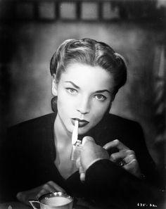 celebritycoffeebreak:  Lauren Bacall
