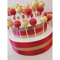 Cakepops for Chinese New Year