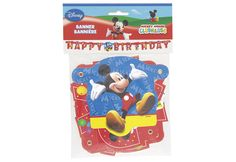 BANNIERE B-DAY MICKEY MOUSE