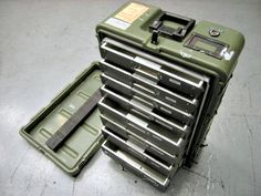 This Hardigg Medical Instruments & Supply Case would be really handy for camping, fishing or tools!