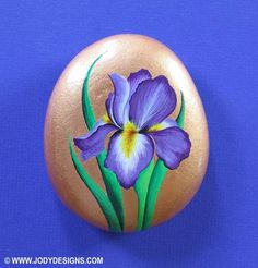 Beautiful Iris Flowers..............One of my very favorites, especially the purple ones, just perfect in design. I love to paint them, they are represented in all areas of my artwork. This bunny iris design is from what I call my Classic Collection. The Classic Collection represents some of my earlier designs....before...