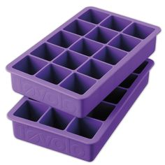 Perfect Cube Ice Tray - Multiple Colors