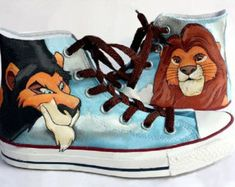 Glee Shoes Hand Painted Custom Converse by MasalShoesShop on Etsy