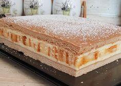 Hungarian Desserts, Hungarian Cake, Baking Recipes, Dessert Recipes, Cake Cookies, No Bake Cake, Vanilla Cake, Sweet Recipes, Sweet Tooth