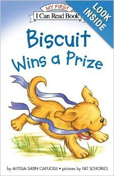 Check out this new Beginning Reader book to see how Biscuit wins.