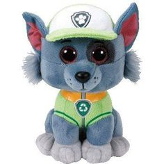 Rocky Paw Patrol Beanies® Paw Patrol Plush, Paw Patrol Toys, Baby Alive Doll Clothes, Baby Alive Dolls, Ty Beanie Boos, Beanie Babies, Paw Patrol Rocky, Paw Patrol Costume, Mini Boo