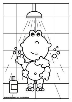 vingeren onder douche hete s