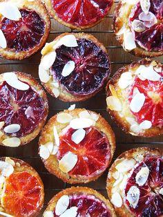 Blood orange, almond and brown sugar teacakes | Ice-cream in the rain | Rachel Stonehouse